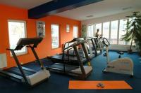 Fitness room in Hotel Lido - bicycle and motor boat rental on the Danube shore in the third district of Budapest